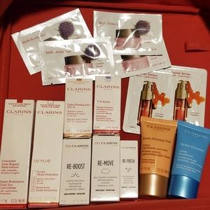 NEW 14pc Clarins Ultimate Anti-Aging Travel Bundle